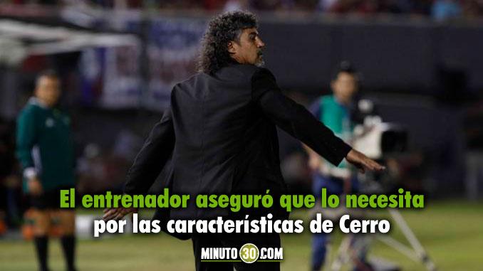 Leonel Alvarez no cesa en su intencion de llevarse jugador de Nacional