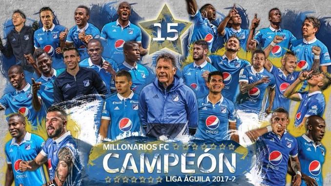 Millonarios campeon