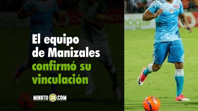 No llego a un acuerdo con Independiente Medellin y firmo con Once Caldas