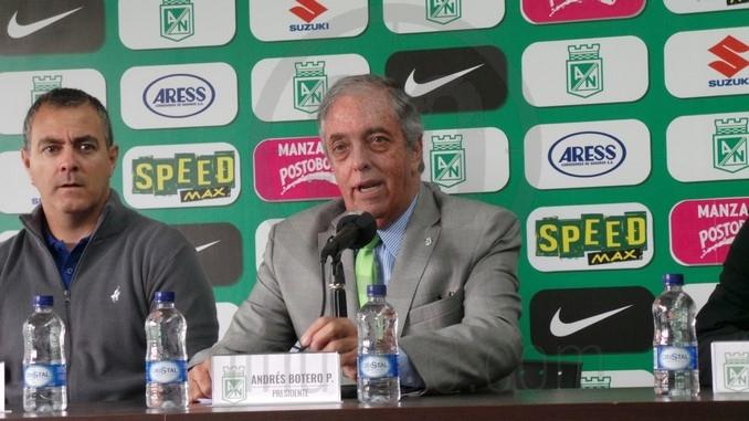 Presidente Atletico Nacional Andres Botero 2