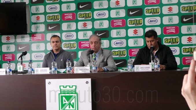 Presidente Atletico Nacional Andres Botero 3