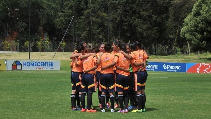 Seleccion Colombia femenina Sub17