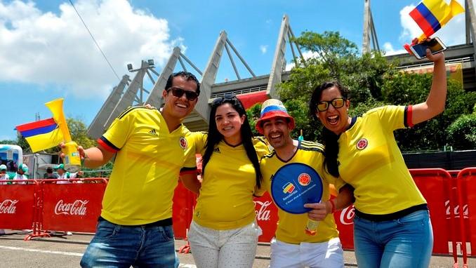 Seleccion Colombia hinchas 1