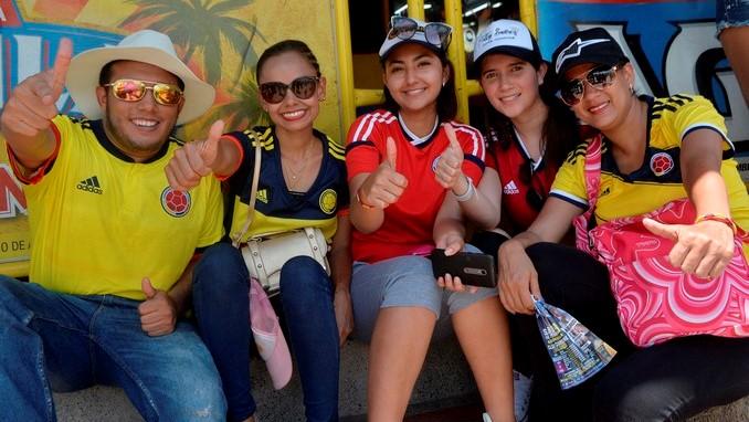 Seleccion Colombia hinchas 2