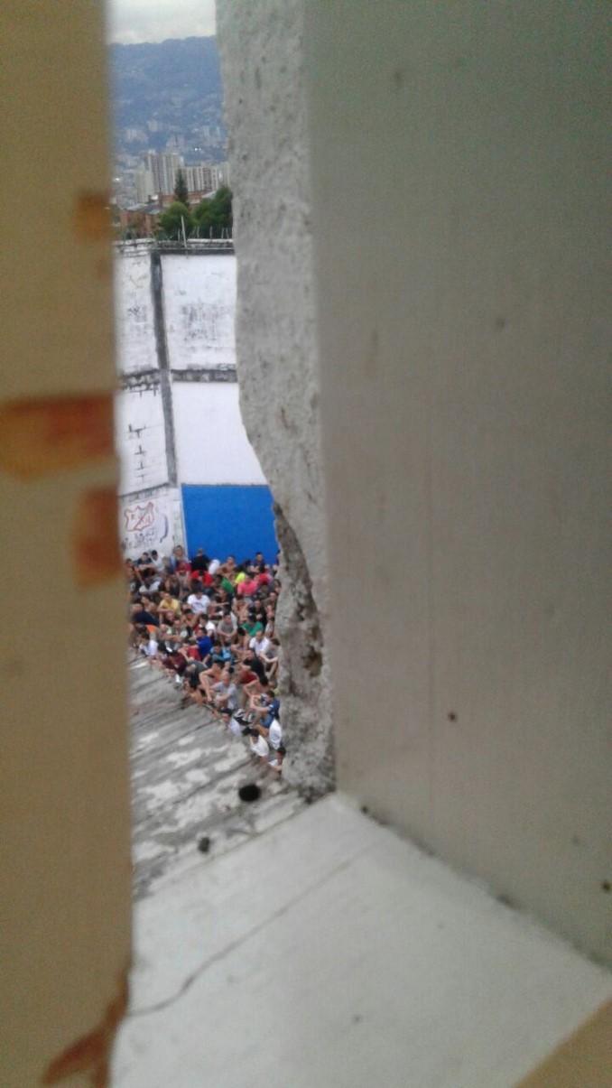 Registran amotinamiento en la cárcel de Itagüí. Varias armas blancas fueron incautadas