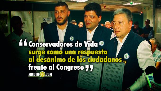 Juan Diego Gómez y Nicolás Albeiro Echeverry inscriben su candidatura