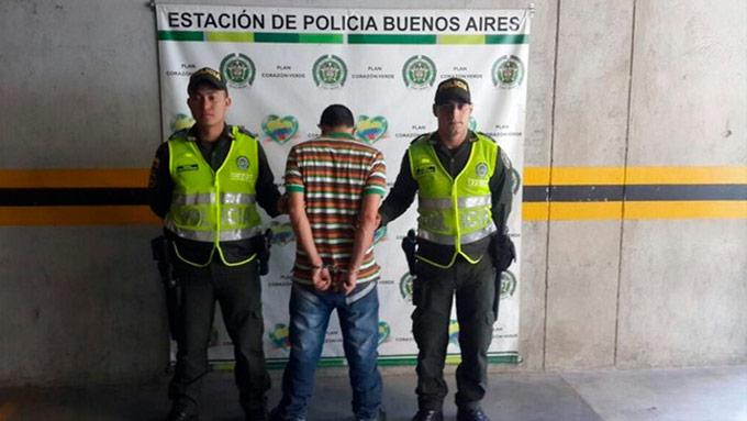 ladrón capturado en Buenos Aires