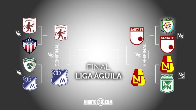 semifinales liga aguila II
