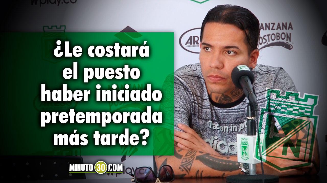 1280 Esta en condiciones Dayro Moreno de ser titular frente a Millonarios el jugador responde