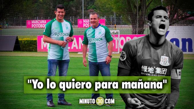 678 Almiron hablo sobre la llegada de Giovanni Moreno a Nacional