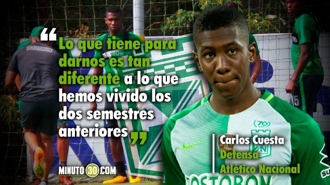 678 Carlos Cuesta habla de las caracteristicas del entrenador Jorge Almiron