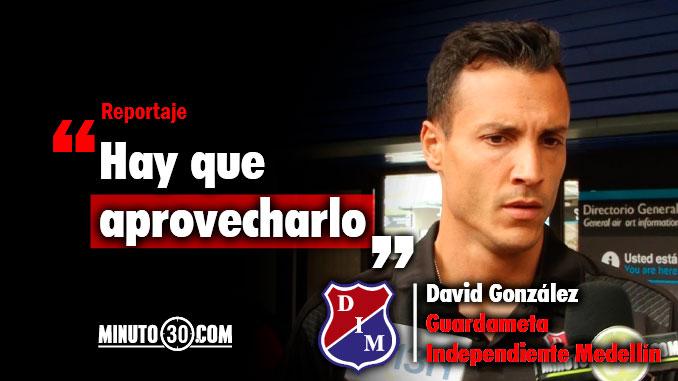 678 David Gonzalez motivado para el inicio de un nuevo ciclo