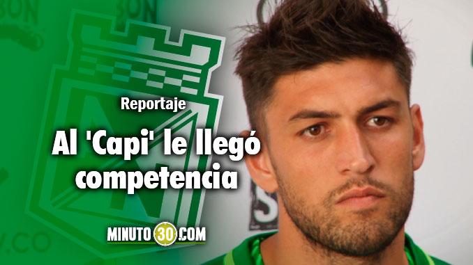 678 Diego Braghieri se refirio al reto de pelearle el puesto a Alexis Henriquez