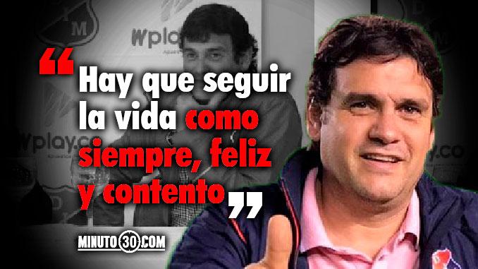 678 Eduardo Silva Meluk se despidio de los hinchas de Independiente Medellin