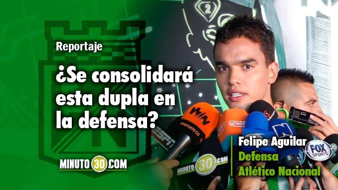 678 Felipe Aguilar conto que ha compaginado muy bien con Diego Braghieri