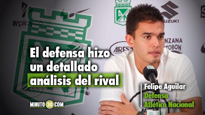 678 Felipe Aguilar cuenta como se preara Nacional para enfrentar a Millonarios