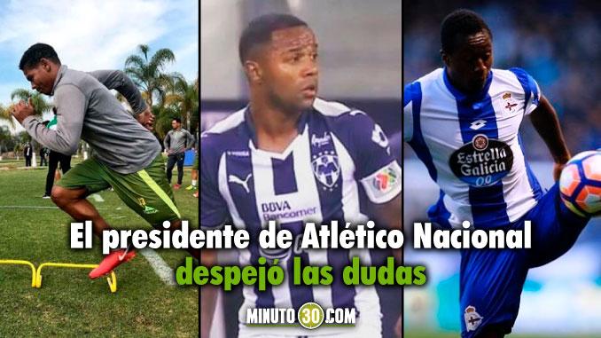678 Ha pensado Nacional en repatriar a Moreno Mejia y Pabon Andres Botero responde