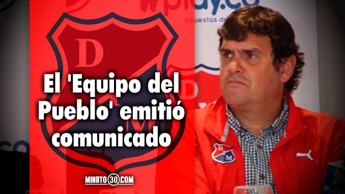 678 Independiente Medell%C3%ADn confirm%C3%B3 la salida de Eduardo Silva Meluk