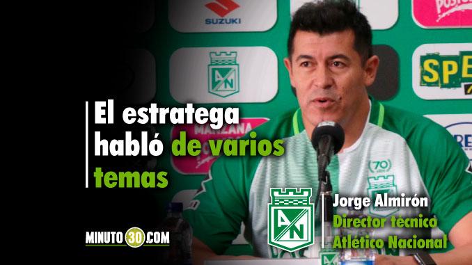 678 Jorge Almiron entrega balance de primer partido de pretemporada