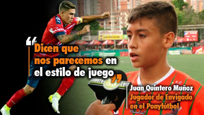 678 Juan primo de Juan Fernando Quintero quiere brillar en el Pony como lo hizo su primo