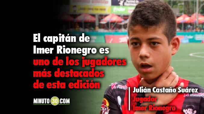 678 Julian Castano orgulloso de representar a Rionegro en el Ponyfutbol