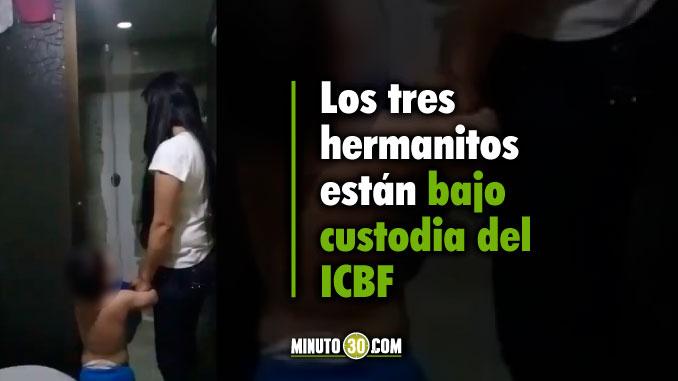 678 Los tres hermanitos estan bajo custodia del ICBF