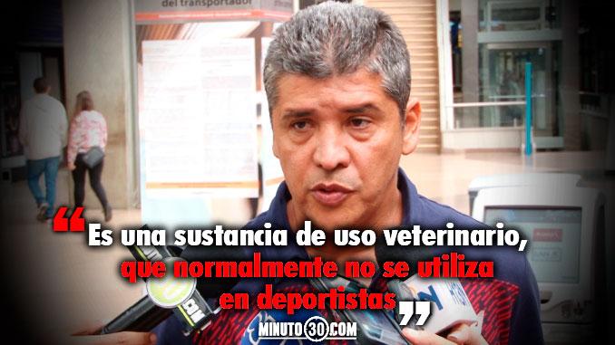 678 Medico de Independiente Medellin se refirio al caso de dopaje de Echeverria