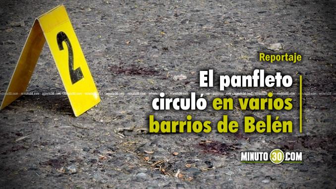 678-Recientes-homicidios-en-Belen-no-tienen-conexion-con-panfleto-amenazante-segun-Policia