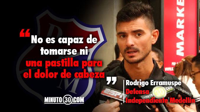 678 Rodrigo Erramuspe se solidariza con su compatriota y companero Santiago Echeverria