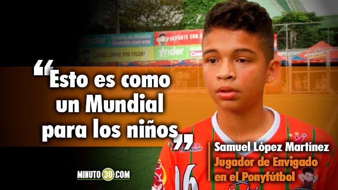 678 Samuel Lopez quiere que se fije en el por su talento no por ser hermano de un jugador profesional