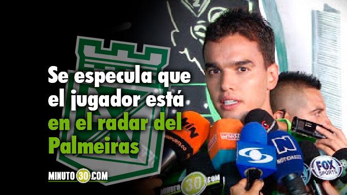 678 Tiene ofertas Felipe Aguilar para salir de Atletico Nacional el jugador responde