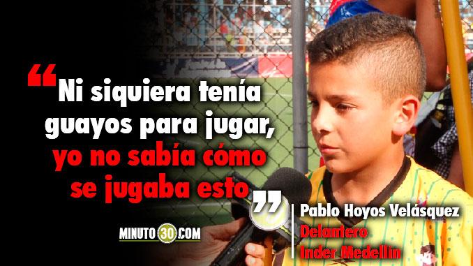 678 Triste pero feliz esta Pablo Hoyos quien comanda tabla de goleadores de Ponyfutbol