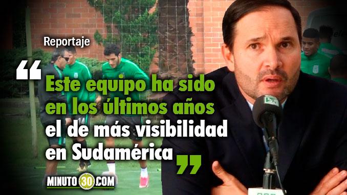 678 V%C3%ADctor Marulanda enfatiza en los objetivos de Nacional con Jorge Almiron