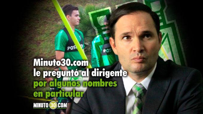 678 Victor Marulanda se refirio a la posible salida de algunos jugadores de Nacional