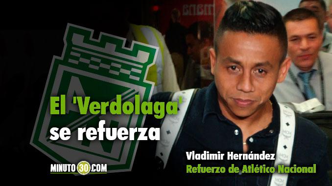 678 Vladimir conto por cuanto tiempo firma contrato con Atletico Nacional