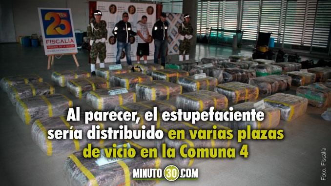 Incautaron más de una tonelada de marihuana en Manrique que pertenecía a 'La Terraza'