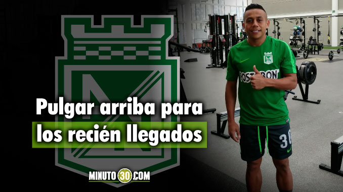 Atletico Nacional entrena en Guarne con sus nueva fichas