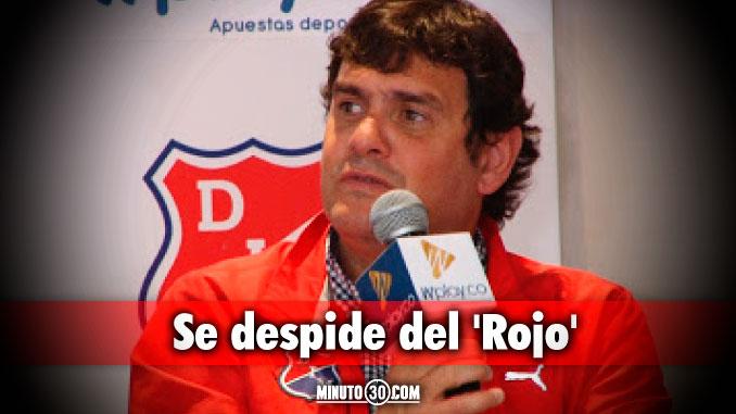 Eduardo Silva Meluk deja la presidencia de Independiente Medell%C3%ADn