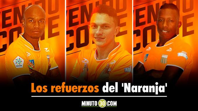 Envigado ha contratado tres jugadores de cara a su participacion en la Liga I 2018