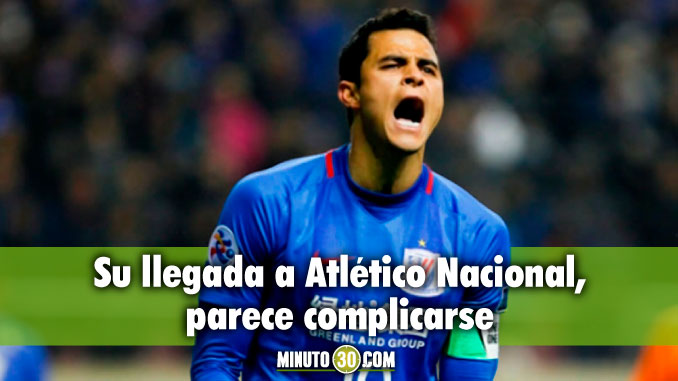 Giovanni Moreno se quedaria en China segun la prensa de ese pais su llegada a Atletico Nacional se complico