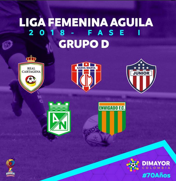Grupos Liga Femenina 3