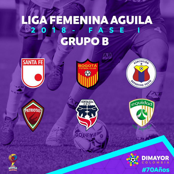 Grupos Liga Femenina 4