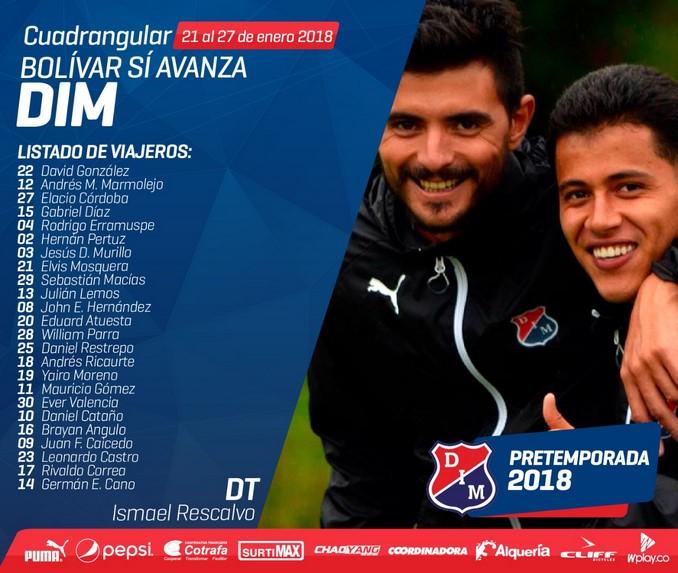Independiente Medellin viajeros