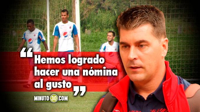 Ismael Rescalvo cont%C3%B3 que pretende con Independiente Medell%C3%ADn en 2018