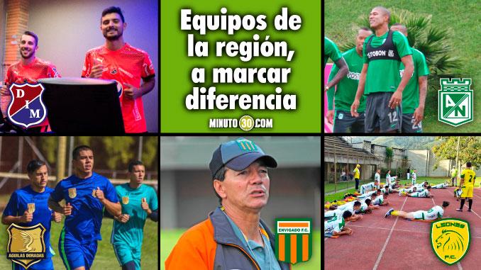 Los cinco equipo de Antioquia ya preparan los retos del 20181