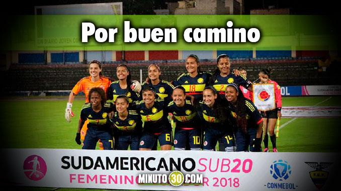 Seleccion Colombia Femenina le gano a Argentina y avanzo