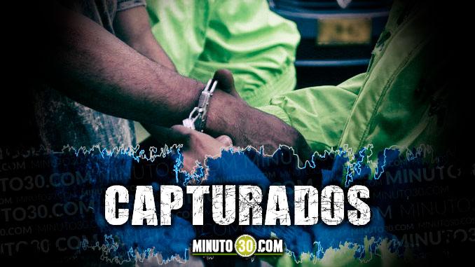 capturados detenidos
