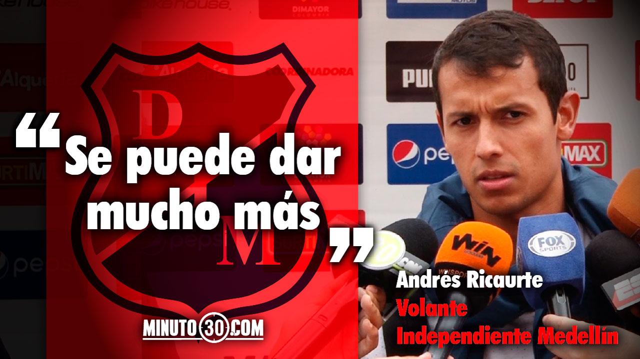 1280 Andres Ricaurte modesto a la hora de hablar del debut en la Liga I 2018