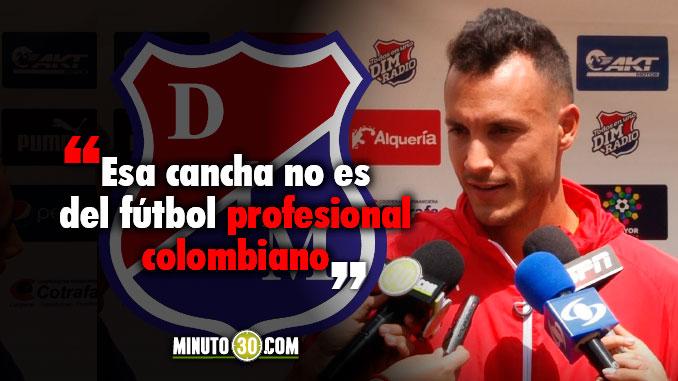 678 David Gonzalez lamenta que en el Estadio La Independencia se juego futbol profesional
