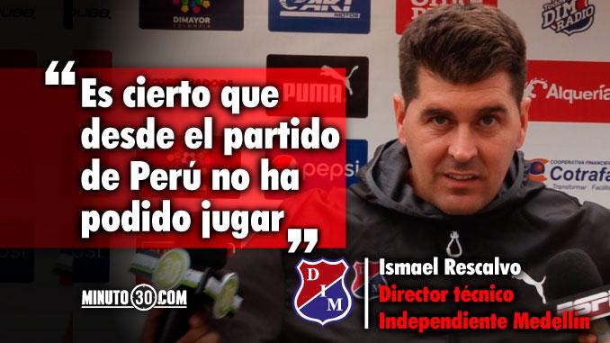 678 Ismael Rescalvo fue indagado por el regreso de Didier Moreno a la titular